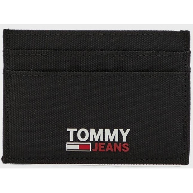 Tommy Jeans Portacarte Nero CC Holder Black