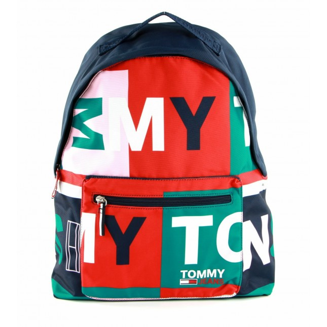 Tommy Jeans Zaino Campus Girl Backpack Print All Over Print