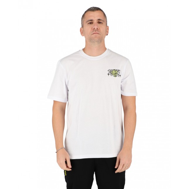 Doomsday T-Shirt Uomo Bianca Rats Tee White