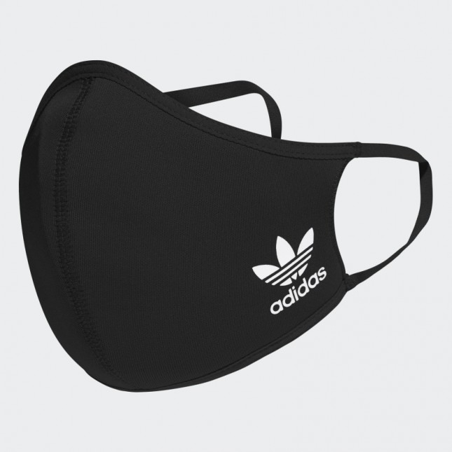 Adidas 3Pack Mascherine Nere Face Cover Black
