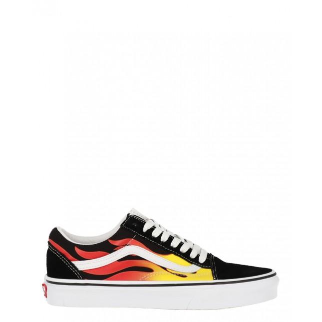 Vans Sneakers Old Skool Flame Black / Black / True White