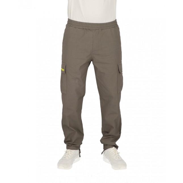 Iuter Pantaloni Uomo Grigi Cargo Pant Grey