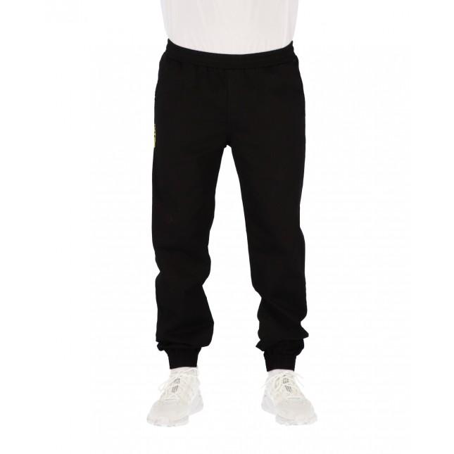 Iuter Pantaloni Uomo Neri Jogger Black