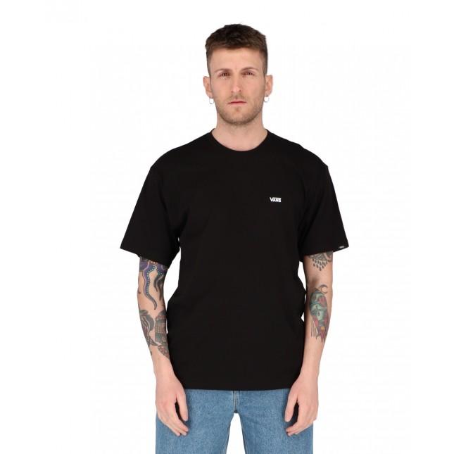 Vans T-Shirt Uomo Nera Left Chest Logo Tee Black