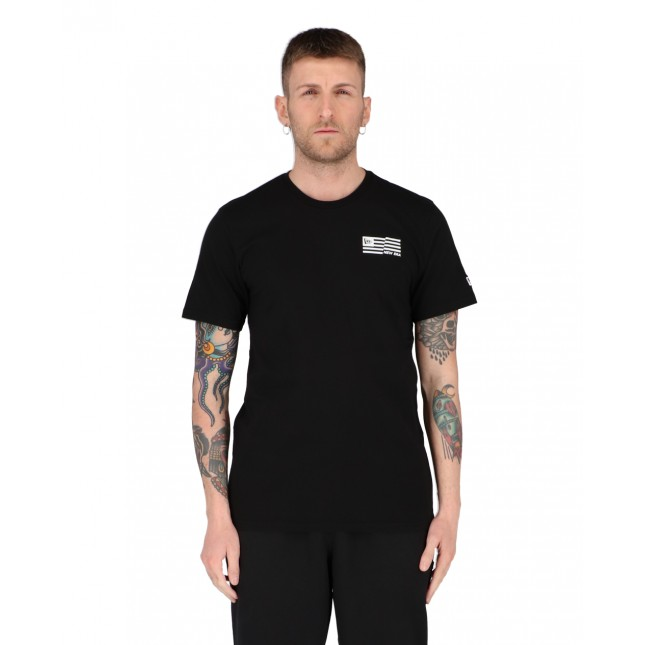 New Era T-Shirt Uomo Nera Outdoor Utility Graphic Tee Black