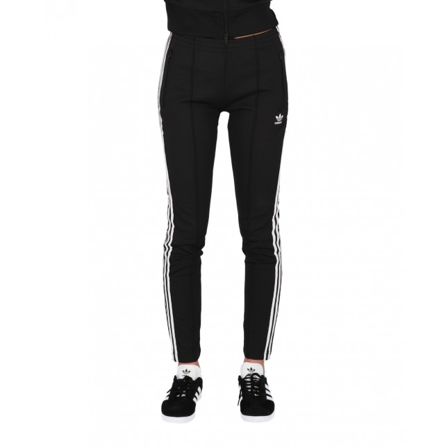 Adidas Pantaloni Donna Neri SST Pants Primeblue Black