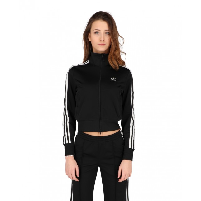 Adidas Giacca Donna Nera Firebird Tracktop Primeblue Black