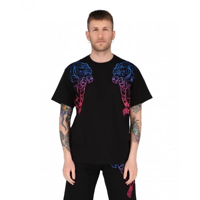 Iuter T-Shirt Uomo Nera Double Nepal Tee Black
