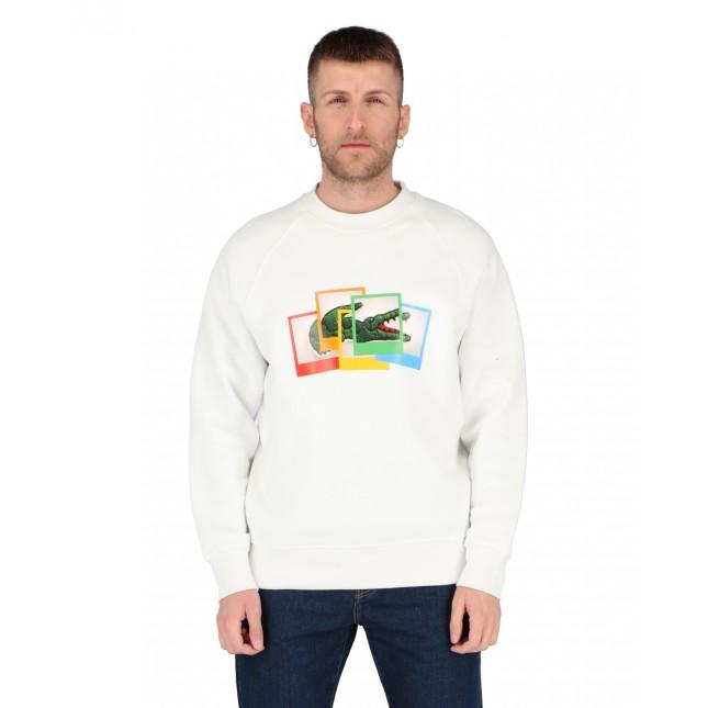 Lacoste x Polaroid Sweatshirt White